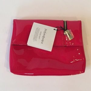 Yves Saint Laurent Gift Cosmetic Bag Pink NWT
